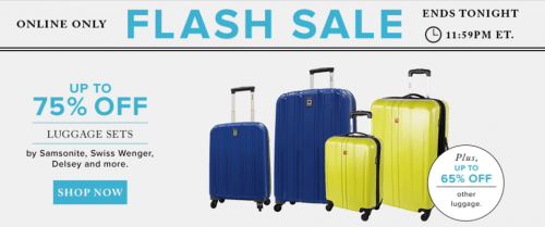 Hudson's Bay Canada Flash Sale