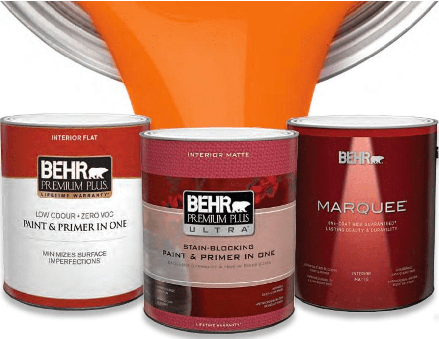 Home Depot Canada New Behr Paint Rebate Buy 1 Can 3 78l And Receive 10 Or Buy 1 Pail 18 9l And Receive 40 Canadian Freebies Coupons Deals Bargains Flyers Contests Canada