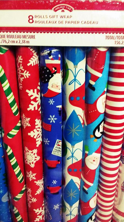 now is the time to stock up on wrapping paper bows and gift bags for next christmas and if you head to walmart canada today you can now load up for 75 - Walmart Christmas Wrapping Paper