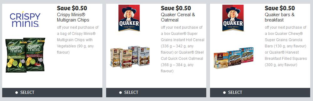 image regarding Quaker Printable Coupons called Fresh new Quaker Printable Discount coupons Out there In the course of WebSaver.ca