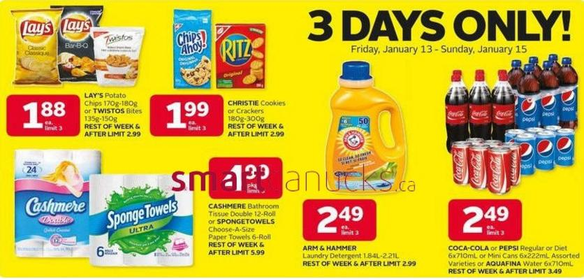 2 Responses To Rexall Canada Arm Hammer Laundry Detergent 99 Cents After Coupon 3 Day Sale