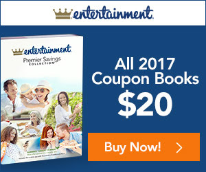 Entertainment book coupon code