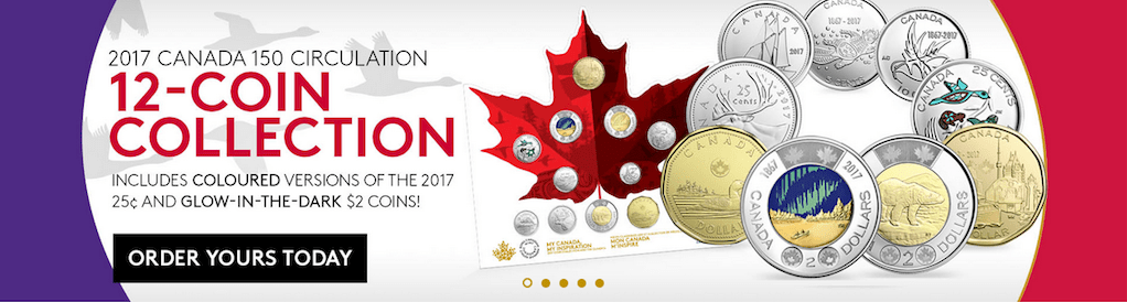 Royal Canadian Mint Special Edition 2017 Coins Canada 150