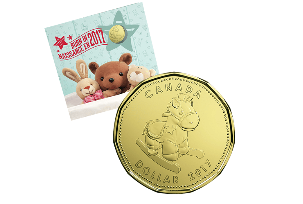 Baby Gift Set Coins : Royal canadian mint coins baby gift set for