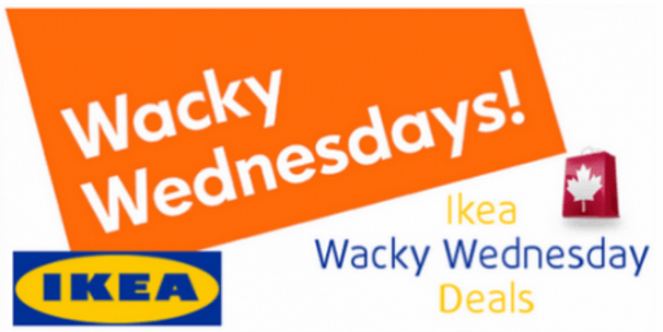 IKEA Canada Wacky Wednesday Sales