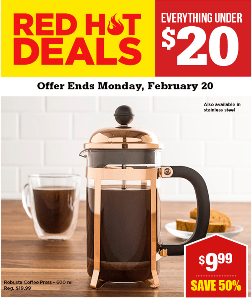 Kitchen Stuff Plus Canada 🔥 Red Hot Deals Everything