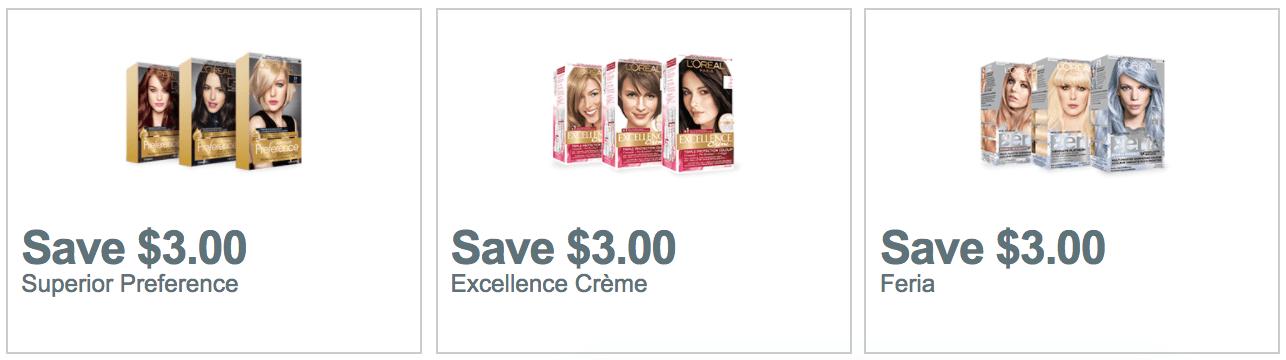 Hair dye coupons december 2018