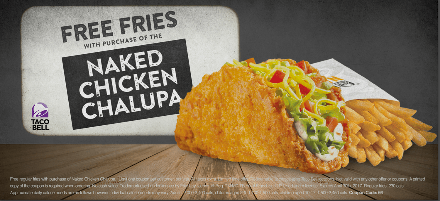 Taco Bells Naked Chicken Is Back In Three New Versions