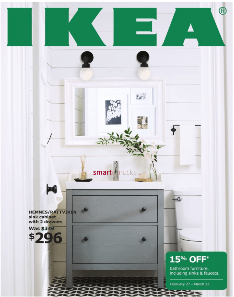 ikea canada bathroom event save 15 off bathroom furniture including