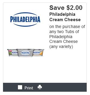 Kraft philadelphia cream cheese coupons canada