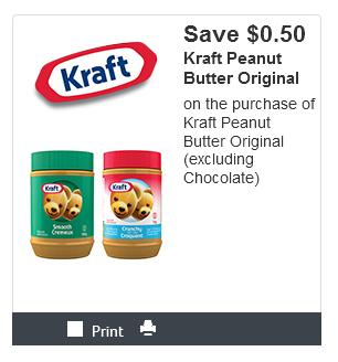 photo about Staple Printable Coupons known as Refreshing Kraft Canada Printable Discount coupons: Help you save Upon Peanut Butter