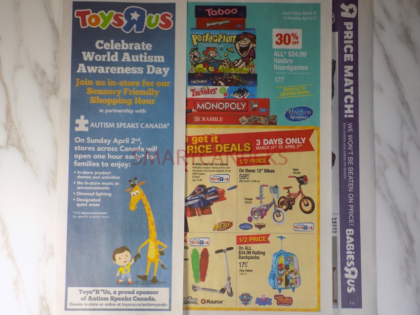 Toys R Us Autism Awareness Event