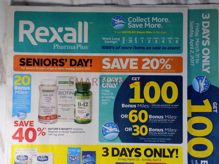 Rexall Flyer March 31