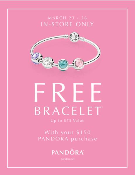 Pandora Canada Offers