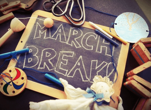REE March Break Events Canada