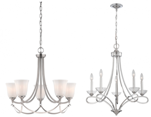 Lowe S Canada Deals Save 20 40 Off Clearance Chandeliers