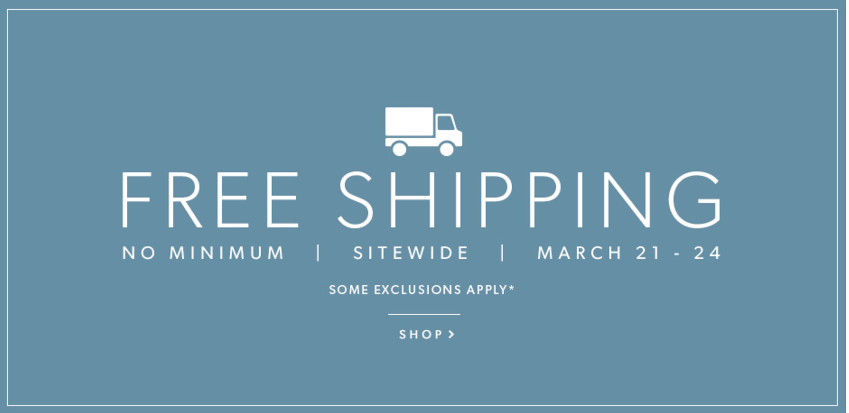 indigo canada deals free shipping sitewide up to 50