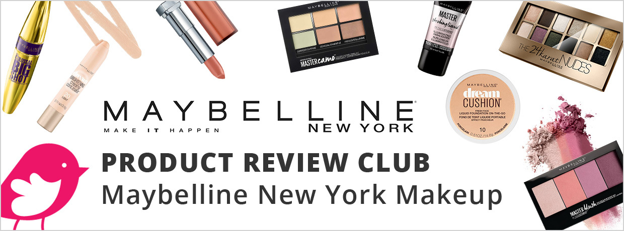ChickaAdvisor Maybelline 2017 Spring Box Product Review