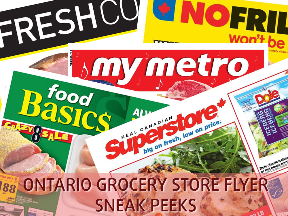 SC Official Ontario Grocery Store Flyer Sneak Peeks - SmartCanucks