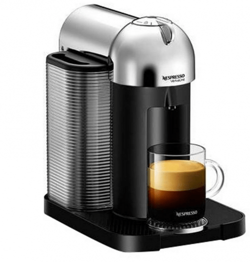 sears canada promotion free 100 coffee credit with the purchase of a nespresso machine. Black Bedroom Furniture Sets. Home Design Ideas