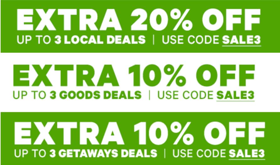 Groupon getaway coupon code