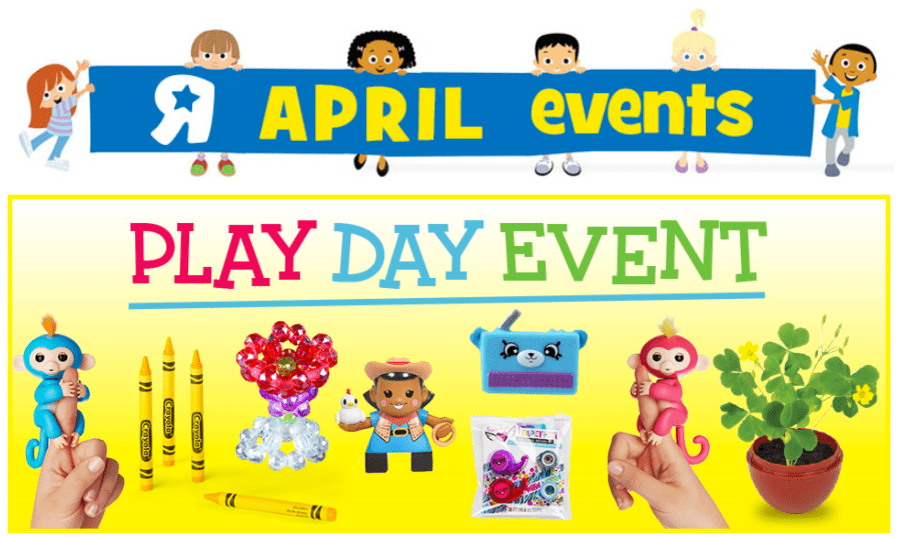 """List of Popular Themed Toys R Us Play Day Events Chuggington Play Date & Giveaways. If you or your child is a fan of Dunbar, Zephie, Calley, Mtambo, Speedy, Emery, Harrison, Irving, Hoot & Toot, Frostini & more then visit your local Toys""""R""""Us store for a Chuggington PlayDate featuring story book reading, colouring and a giveaway (Max giveaways per store."""
