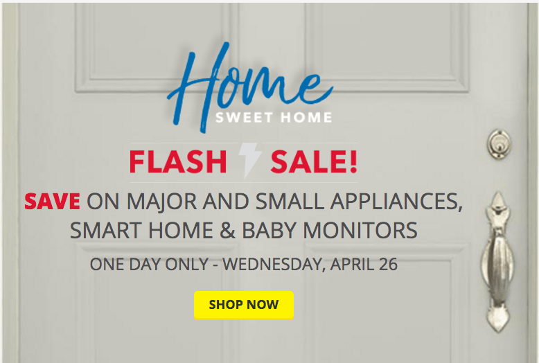 best buy canada flash sale save on major and small appliance smart home baby monitors. Black Bedroom Furniture Sets. Home Design Ideas