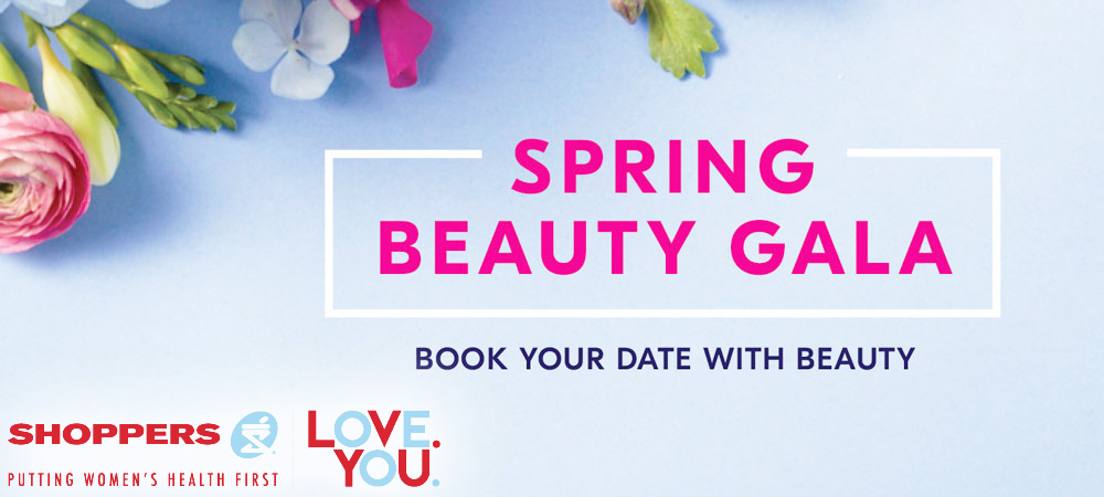 Shoppers Beauty Gala Spring 2017 Date and Details