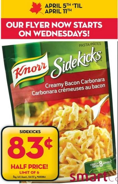 sidekicks coupon canada