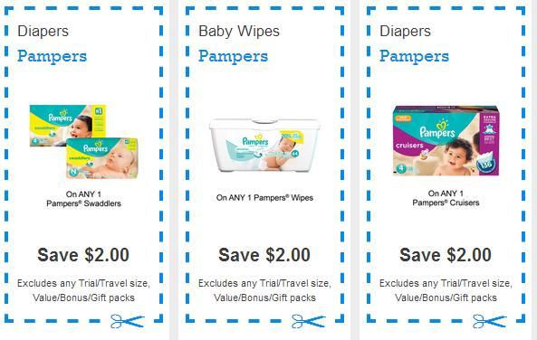 canadian coupons   2 pampers wipes coupon available again