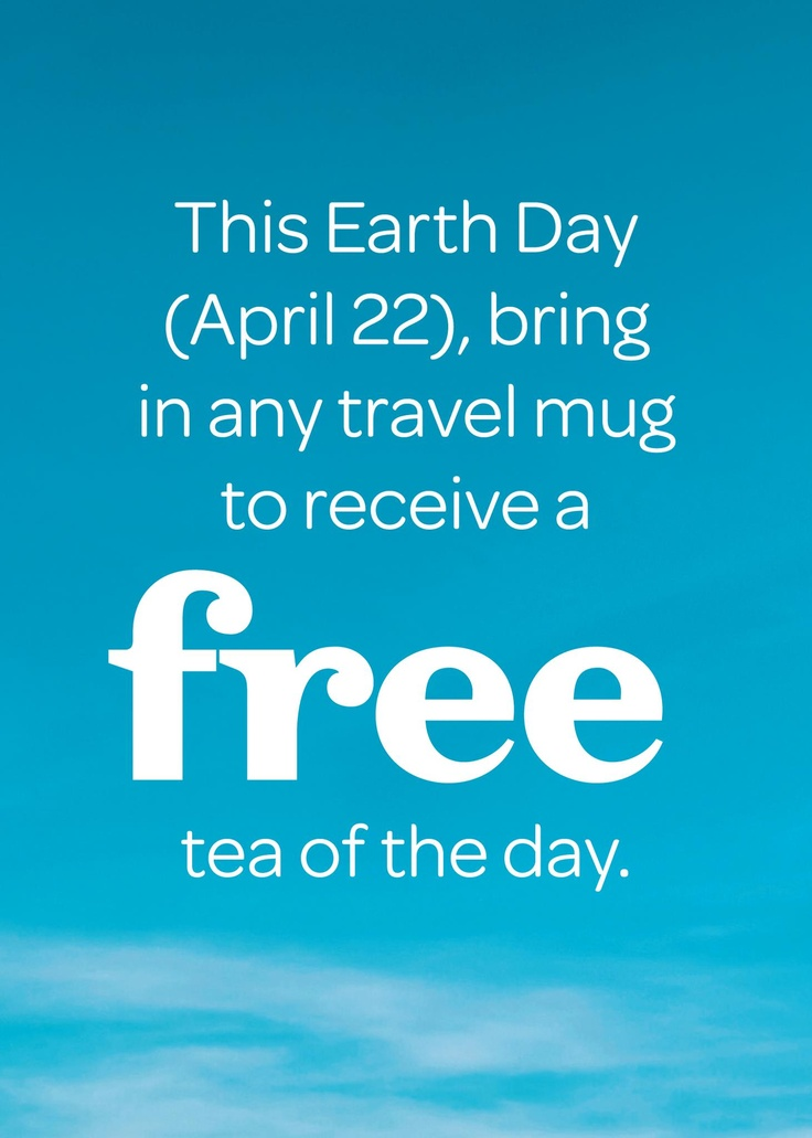 davidstea earth day free totd