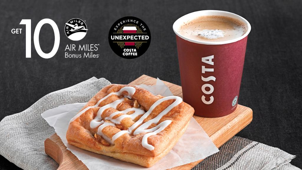Costa Coffee at Shell 10 Air Miles Means Free Coffee
