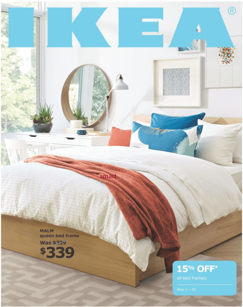 IKEA Canada Bedroom Event: Save 4% Off All Bed Frames May 4 – 4