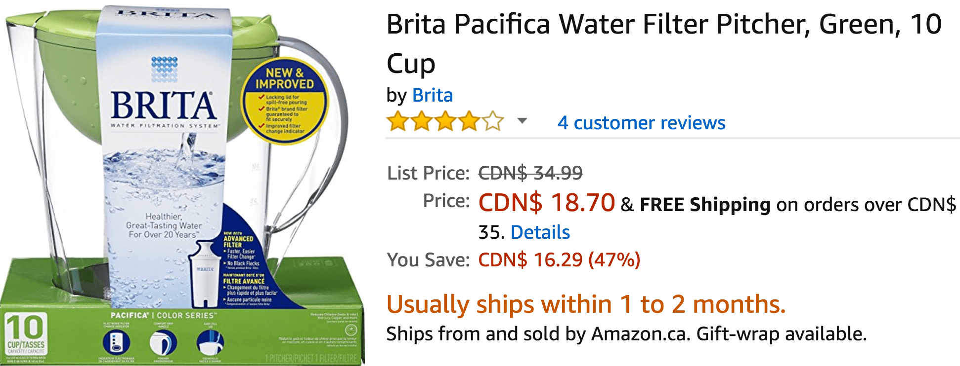 Deals on k-cups canada