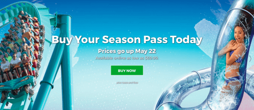 Canada's Wonderland Coupon Deal: Save Up to $72 Off on Single Day Regular Admission Tickets For Six
