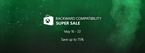 Xbox Live Canada Sale: Backward Compatibility Super Sale, Save Up to 75% Off on Games