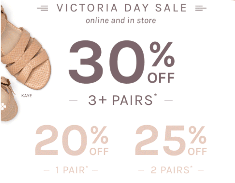 Naturalizer Canada Victoria Day Sale: Save 20% to 30% off Your Order