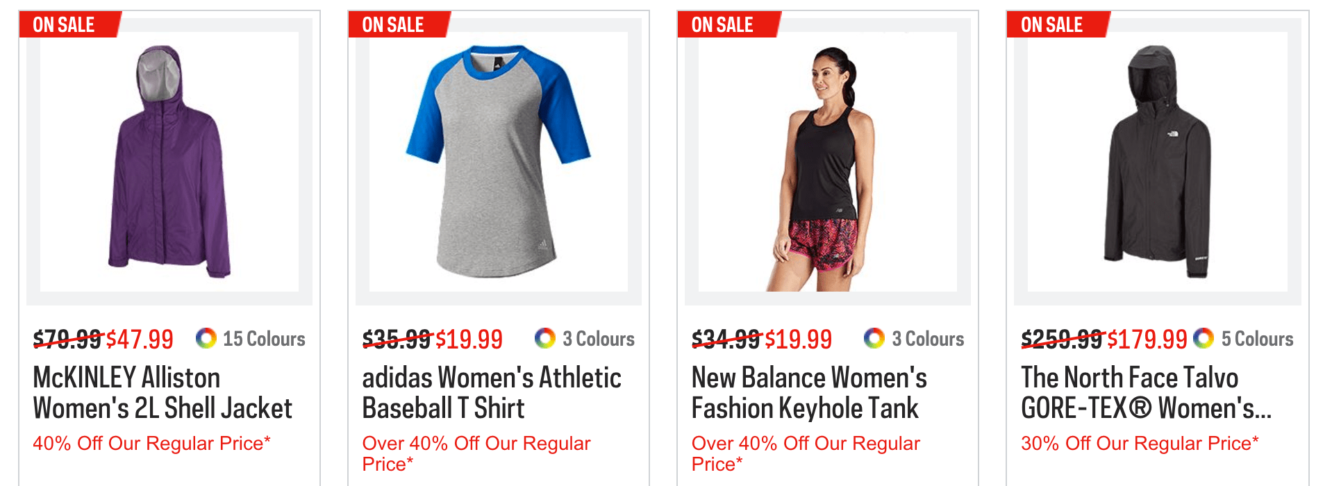3e5652b80750e Through Thursday, take 25% off regular-priced items or 10% off sale items  with the coupon found here:.Sport Chek Special Offers: Get discounts on  select ...