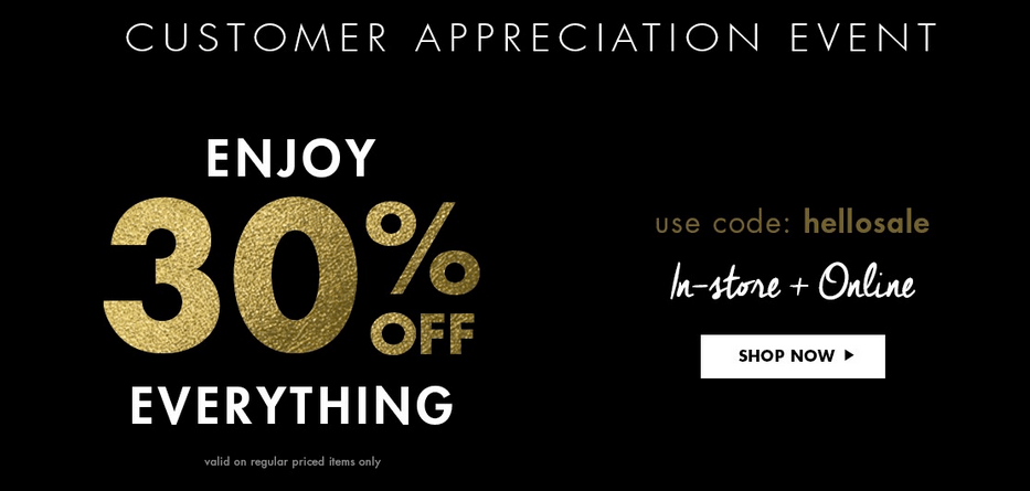 Jean Machine Canada Customer Appreciation Event: Save an Extra 40% off Sale Items!