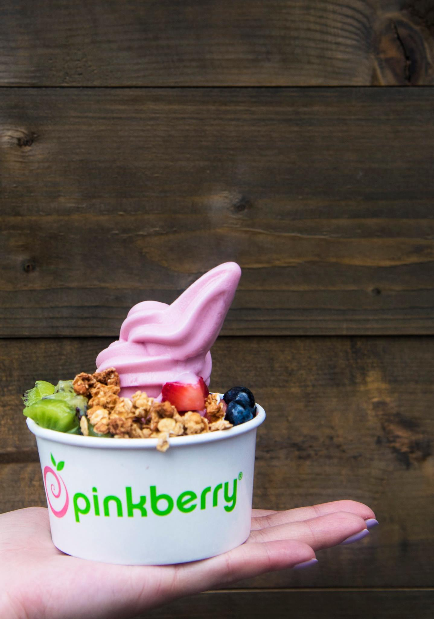 Pinkberry Frozen Yogurt and Pinkbee's ® Low Fat, Milk Ice Cream Taste as Good as they Make You Feel We create distinctive Pinkberry® Frozen Yogurt and Pinkbee's® Low-Fat, Milk Ice Cream flavors by selecting and combining fresh ingredients.