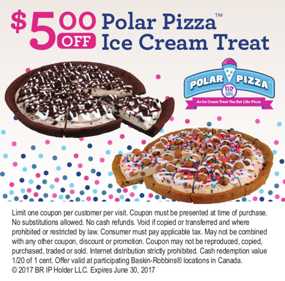 Baskin robbins 31 ice cream coupon