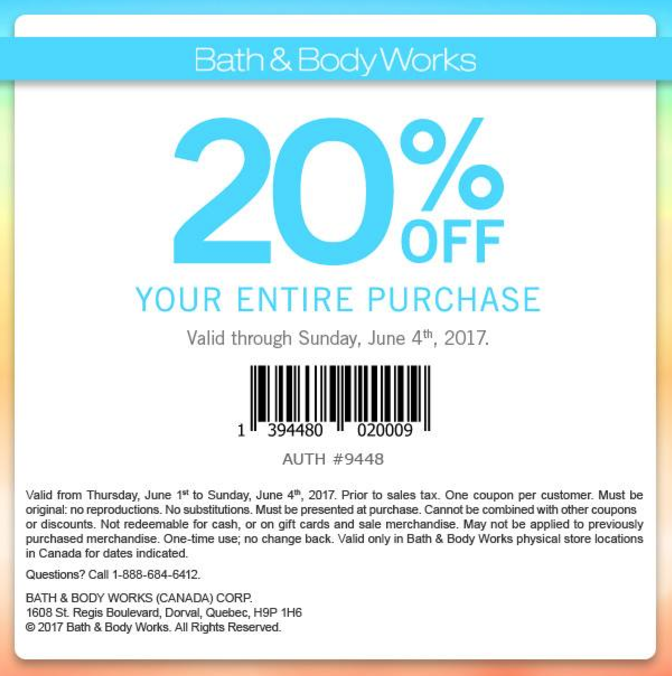 Bath body works candles coupons