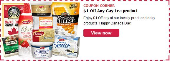 Gay Lea Save $1 on Any Product
