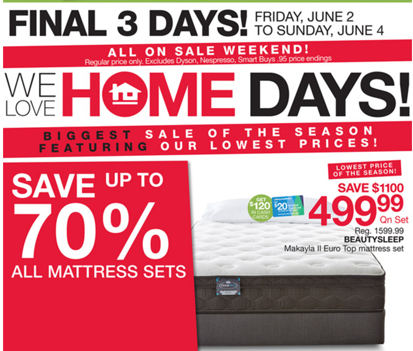 Homehome Outfitters Deals Save Up To 70 On All Mattress Sets More Flyers Deals 25 Off