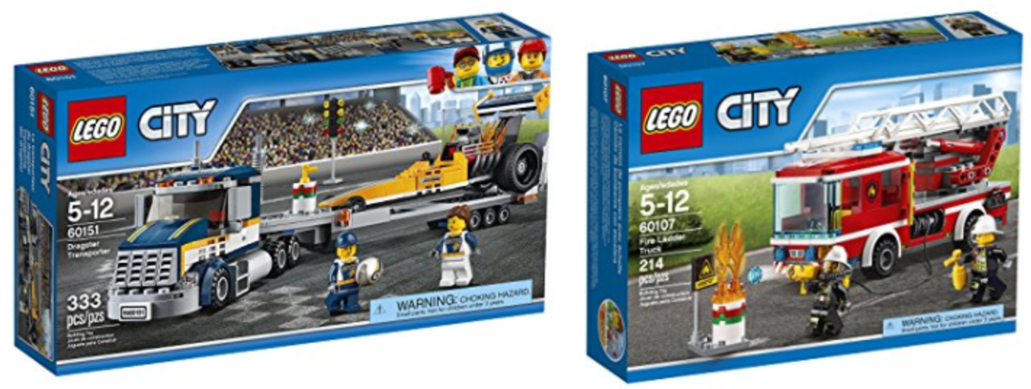 Amazon Canada Deals: Save 20% on LEGO City Great Vehicles