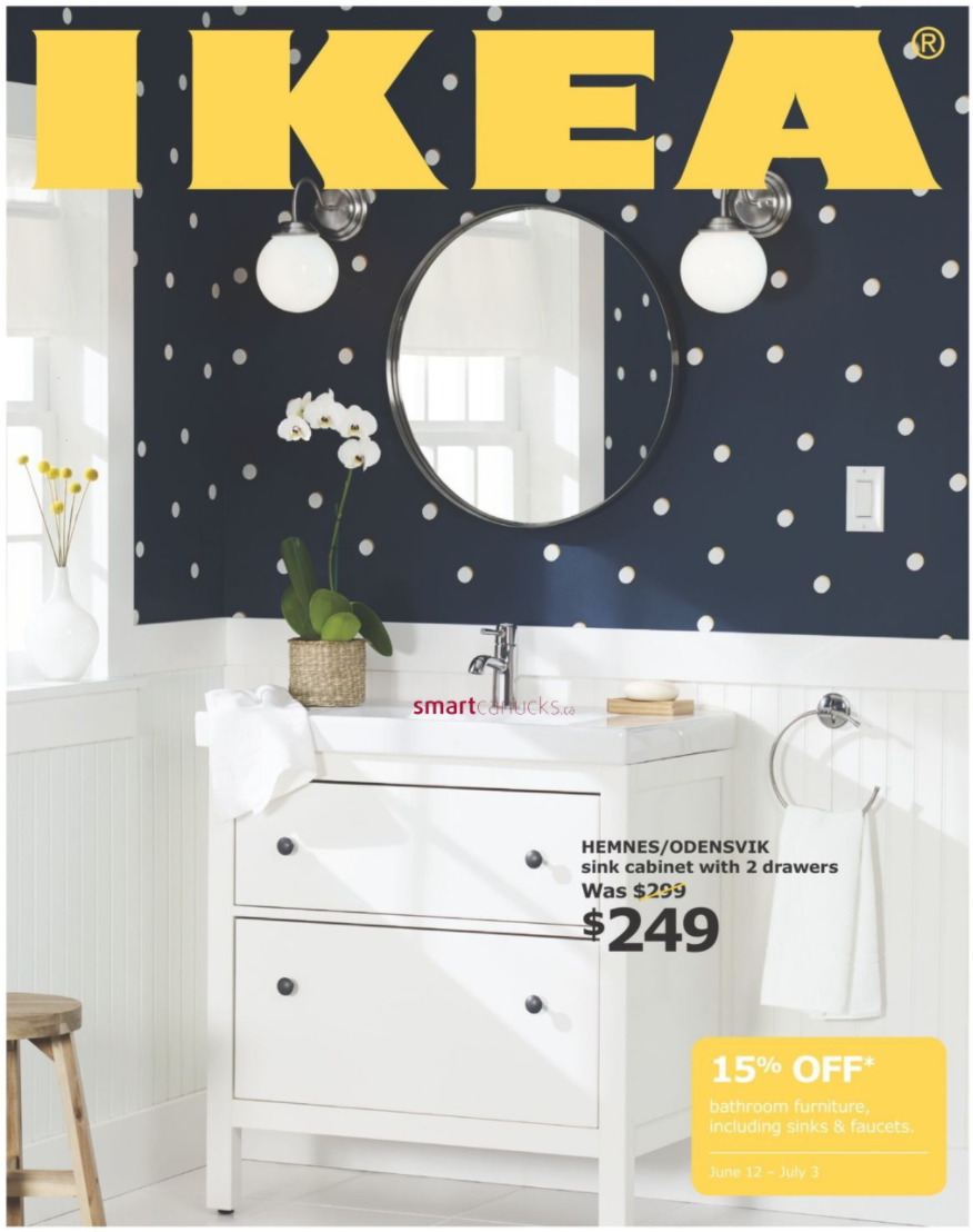 ikea canada bathroom event save 15 off bathroom furniture sinks