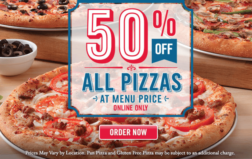 Dominos Free Shipping Policy. Pizza can be delivered to you at a small rate. These rates may change on location or availability, pick up is always FREE. Enjoy best price with verified Dominos free shipping code and coupons for December. Dominos Return Policy. Refunds requests are considered individually.