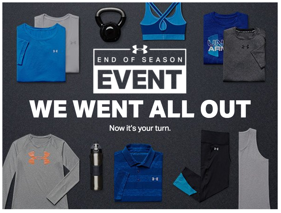 under armour outlet sale