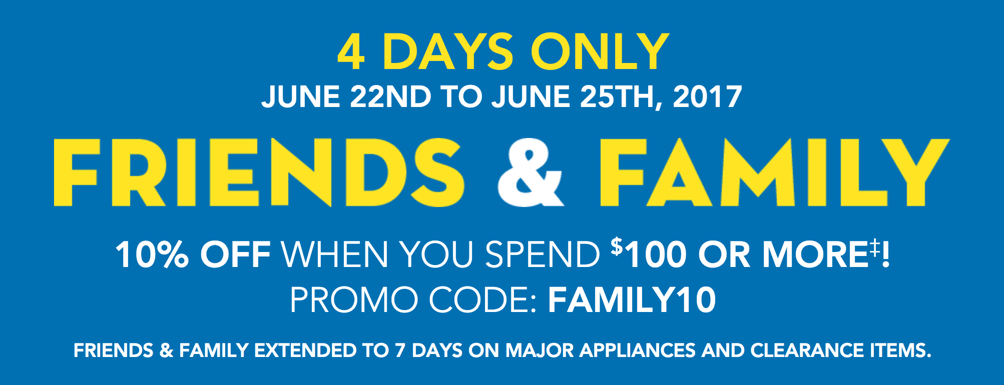 Lowe\'s Canada Friends & Family Sale: Save 10% Off $100 + Up to $400 ...