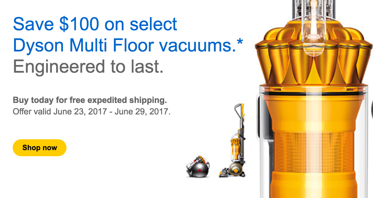 dyson canada is offering an awesome sale to help you stay clean this summer despite the mess of the outdoors coming home with you and your family - Dyson Vacuum Sale